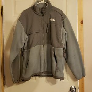 MENS LARGE NORTH FACE ZIP UP